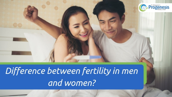 Difference Between Fertility in Men And Women